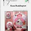 ROSE BUDDINGTON  ANGEL COUNTED CROSS STITCH  by LINDA CONNORS CALICO CROSSROADS CRAFT BOOK NEW