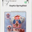 SOPHIE SPRINGFIELD  ANGEL COUNTED CROSS STITCH  by LINDA CONNORS CALICO CROSSROADS CRAFT BOOK NEW