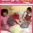 CHICK STUFF  FUN FURRY PILLOWS GOOF PROOF CROCHET FOR AGES 10 & UP  by DEBORAH WOOD CRAFT BOOK NEW