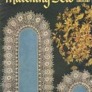 CLARK's  MATCHING SETS IN CROCHET DOILY 1st EDITION BOOKLET NOVEMBER 1951 CRAFT BOOK NEAR MINT