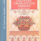 AN AMERICAN SAMPLER 1990 COUNTRY CROSS STITCH DESIGNS 2ND ANNUAL CRAFT HARDBACK BOOK MINT