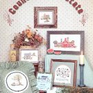 COUNTRY REAL ESTATE CROSS STITCH by BARBARA & CHERYL BOOKLET 8 CRAFT BOOK MINT