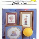 FLYING HIGH CROSS STITCH BALLOONS  DESIGNS BY VANGIE 1984 CRAFT BOOK NEAR MINT