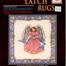 GRAPH N' LATCH RUGS  ANGEL  #37545  MCG TEXTILES CRAFT BOOK NEW