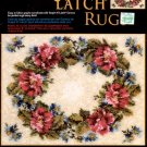 GRAPH N' LATCH RUGS  FLORAL  #37496  MCG TEXTILES CRAFT BOOK  NEW