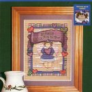 KRIS B. KRITTER CRAFTS PURE IN HEART CROSS STITCH LEAFLET DESIGNED by DIANNE J. HOOK CRAFT BOOK NEW