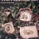 THE FLEDGLINGS CROSS STITCH DESIGNS by DIANE BRAKEFIELD LEISURE ARTS  LEAFLET CRAFT BOOK NEAR MINT