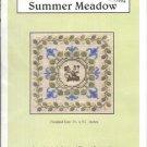 SUMMER MEADOW  CROSS STITCH with FLOWER CHARM BY ELIZABETHs DESIGNS LITTLE LEAF DESIGNS CRAFT KIT