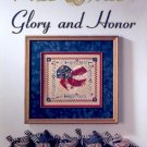 MILL HILL GLORY & HONOR CROSS STITCH LEAFLET CRAFT BOOK  NEW