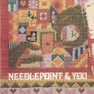 NEEDLEPOINT AND YOU by  ANTOINETTE LEWIS 1972 CRAFT BOOK GOOD CONDITION