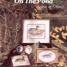 ON THE POND CROSS STITCH DESIGNS by NANCI 1984 CRAFT BOOK MINT