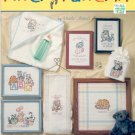 PITTER PATTER # 7 - 8 BABY KITTEN CROSS STITCH DESIGNS by URSULA MICHAEL BOOKLET CRAFT BOOK  NEW