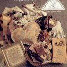 VICTORIAN ELEGANCE FORGET ME NOT CROSS STITCH BOOKLET  by SANDRA SULLIVAN CRAFT BOOK NEAR MINT