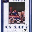 Xs & OHs HIS STORY CROSS STITCH BOOKLET DESIGNED by SHELLEY McVITTIE CRAFT BOOK NEW