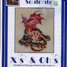 Xs & OHs SOULMATES CROSS STITCH BOOKLET DESIGNED BY DEN BEAUVAIS CRAFT BOOK NEW
