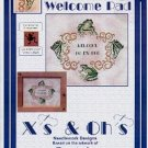 Xs & OHs WELCOME TO MY PAD CROSS STITCH by DANIELA OEY CRAFT BOOK NEAR MINT