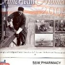 AMERICAN MOMENTS by S & W PHARMACY CALENDAR 2004 MINT