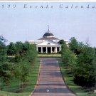 1999 OLD WAVERLY GOLF CLUB CALENDAR OF EVENTS CALENDAR for U.S. WOMEN'S OPEN NEAR MINT
