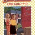KAREN'S GOOD-BYE by ANN M. MARTIN  BABY-SITTERS LITTLE SISTER #19 PAPERBACK BOOK 1991 NEAR MINT