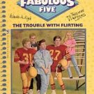 THE TROUBLE WITH FLIRTING by BETSY HAYNES THE FABULOUS FIVE # 2 PAPERBACK BOOK 1988 NEAR MINT
