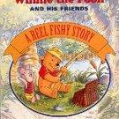 WALT DISNEY'S WINNIE THE POOH AND HIS FRIENDS A REEL FISHY STORY CHILDREN'S HARDBOARD BOOK NEAR MINT