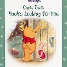DISNEY'S ONE, TWO, POOH'S LOOKING FOR YOU 1999 CHILDREN'S HARDBOARD BOOK VERY GOOD COND