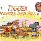 DISNEY'S POOH AND FRIENDS TIGGER BOUNCES INTO FALL 1995 CHILDREN'S HARDBACK BOOK MINT