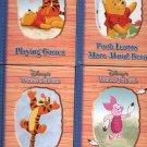 DISNEY'S WINNIE THE POOH 1ST EDITION  4 ea. CHILDREN'S HARDBACK BOOK SET 2003 NEAR MINT