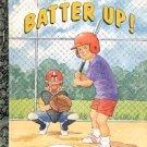 BATTER UP A LITTLE GOLDEN BOOK 1991 CHILDREN'S HARDBACK BOOK NEAR MINT