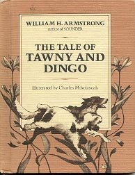 THE TALE OF TAWNY AND DINGO 1979 WEEKLY READER  CHILDREN'S HARDBACK BOOK VERY GOOD CONDITION