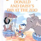 DONALD & DAISYS DAY AT THE ZOO FUN W/ ZOO WORDS DISNEYS RHYMING READER CHILDRENS HARDBACK NEAR MINT