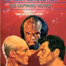 STAR TREK  THE NEXT GENERATION BOOK # 8 THE CAPTAINS' HONOR BY DAVID & DANIEL DVORKIN PAPERBACK BK