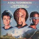 STAR TREK THE NEXT GENERATION # 9 A CALL TO DARKNESS BY MICHAEL J FRIEDMAN PAPERBACK BOOK NEAR MINT