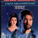 STAR TREK THE NEXT GENERATION #10 A ROCK AND A HARD PLACE BY PETER DAVID PAPERBACK BOOK NEAR MINT