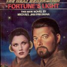 STAR TREK THE NEXT GENERATION #15 FORTUNE'S LIGHT BY MICHAEL J FRIEDMAN PAPERBACK BOOK NEAR MINT