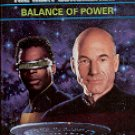 STAR TREK - THE NEXT GENERATION # 33 BALANCE OF POWER BY DAFYDD AB HUGH PAPERBACK BOOK NEAR MINT