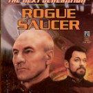 STAR TREK THE NEXT GENERATION # 39 ROGUE SAUCER BY JOHN VORNHOLT 1996 PAPERBACK BOOK NEAR MINT
