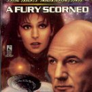 STAR TREK - THE NEXT GENERATION # 43 A FURY SCORNED BY PAMELA SARGENT 1996 PAPERBACK BOOK NEAR MINT