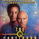 STAR TREK - THE NEXT GENERATION # 47 THE Q CONTINUUM Q-SPACE (BOOK 1 OF 3) PAPERBACK BOOK NEAR MINT