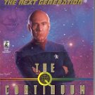 STAR TREK - THE NEXT GENERATION # 48 THE  Q  CONTINUUM Q-ZONE (BOOK 2 OF 3) PAPERBACK BOOK NEAR MINT