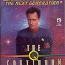 STAR TREK - THE NEXT GENERATION # 49 THE Q CONTINUUM Q-STRIKE (BOOK 3 OF 3) PAPERBACK BOOK NEAR MINT