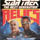 STAR TREK -  THE NEXT GENERATION  RELICS BY MICHAEL JAN FRIEDMAN 1992 PAPERBACK BOOK VERY GOOD COND