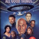 STAR TREK THE NEXT GENERATION ALL GOOD THINGS BY MICHAEL JAN FRIEDMAN 1995 PAPERBACK BOOK VGOOD COND