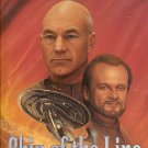 STAR TREK - THE NEXT GENERATION SHIP OF THE LINE BY DIANE CAREY 1999 PAPERBACK BOOK NEAR MINT