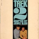 STAR TREK 2 by JAMES BLISH 1973 PRINTING PAPERBACK BOOK VERY GOOD CONDITION