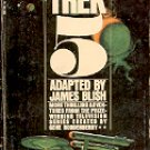 STAR TREK 5 by JAMES BLISH 1972 PRINTING PAPERBACK BOOK VERY GOOD CONDITION