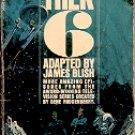STAR TREK 6 by JAMES BLISH 1972 PRINTING PAPERBACK BOOK GOOD CONDITION