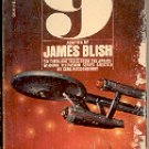 STAR TREK  9    by  JAMES BLISH  1975 PRINTING  PAPERBACK BOOK GOOD CONDITION