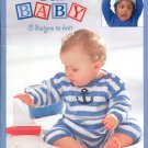 LEISURE ARTS  OOH BABY  8 DESIGNS TO KNIT BOOKLET  CRAFT BOOK NEW