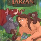 DISNEY'S TARZAN - A READ - ALOUD STORYBOOK 1999 CHILDREN'S HARDBACK BOOK NEAR MINT